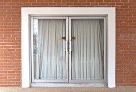 Front Glass Door