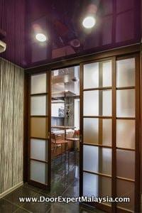Kitchen Sliding French Door
